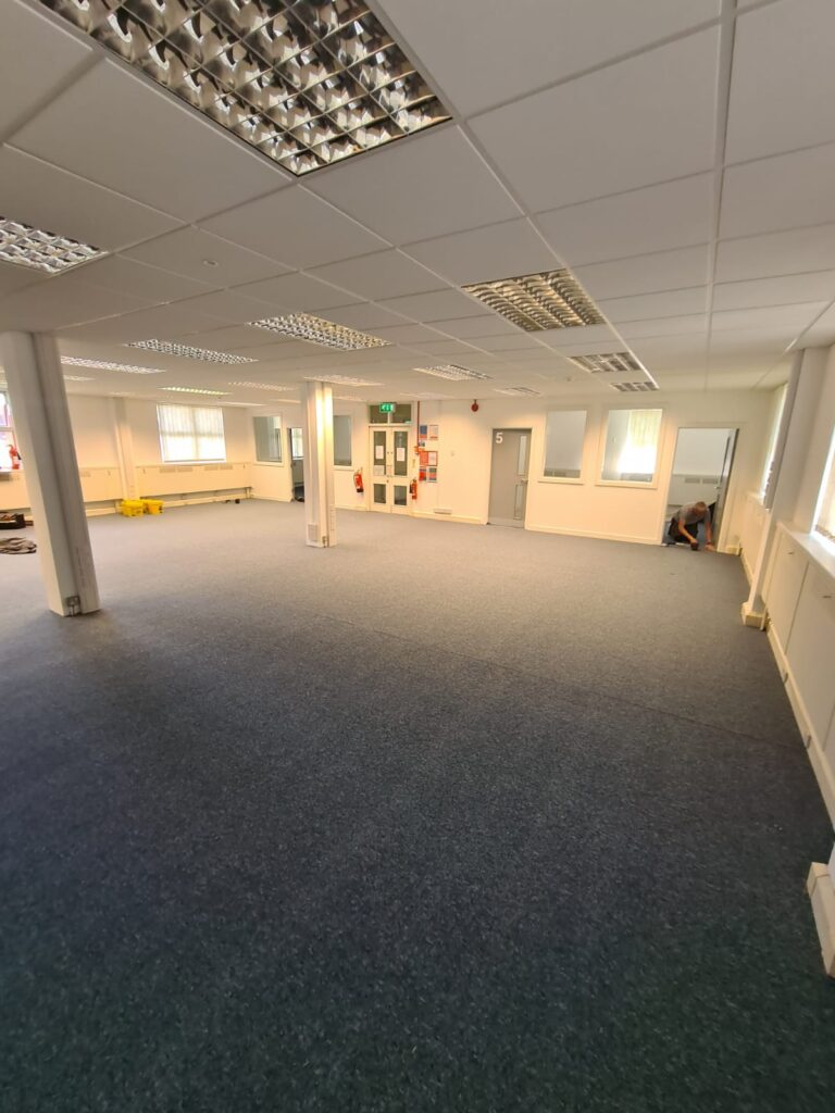 Commercial Office Carpet fitted Bournemouth