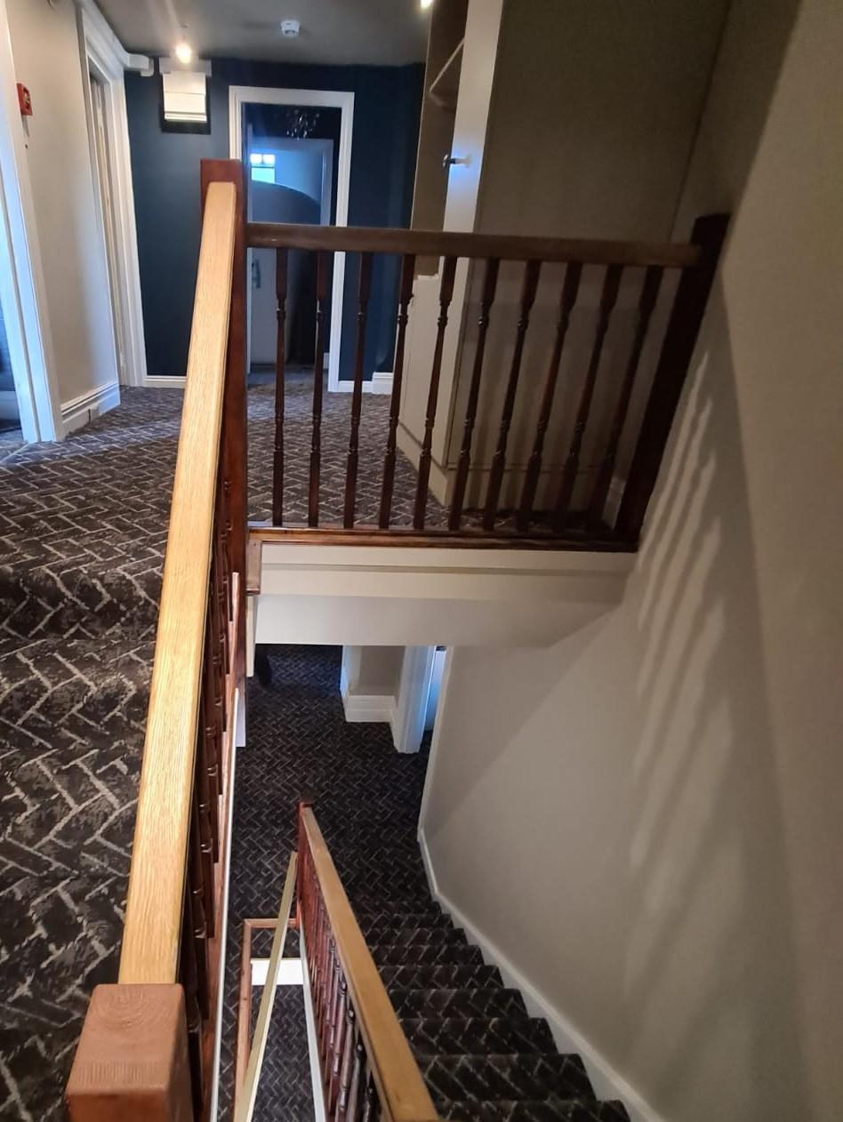 Carpet in hotel in Lymington