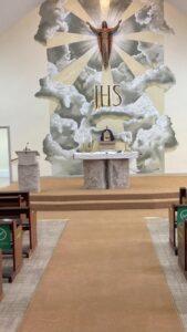 church carpet in West Moors