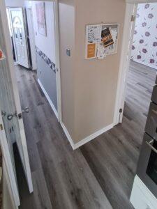 grey LVT fitted ringwood, hants