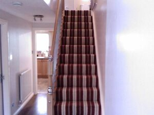 Domestic staircase in Poole